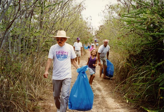 Hapa Trail Community Cleanup
